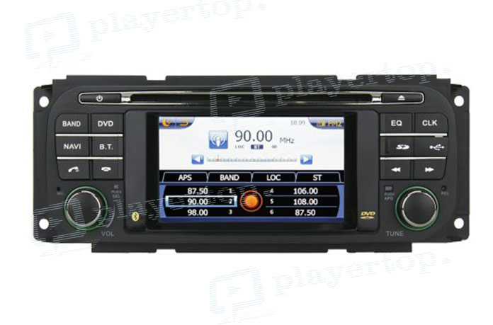 Autoradio GPS jeep grand Cherokee 2006